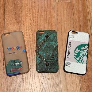green phone case set